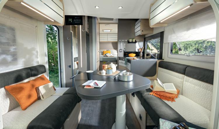 chausson 788 - Automatic - 4 Berth Motorhome - Lounge