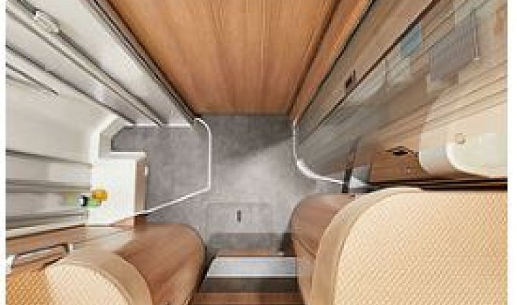 Malibu I 440 QB 4 berth 6.99m motorhome Bathroom